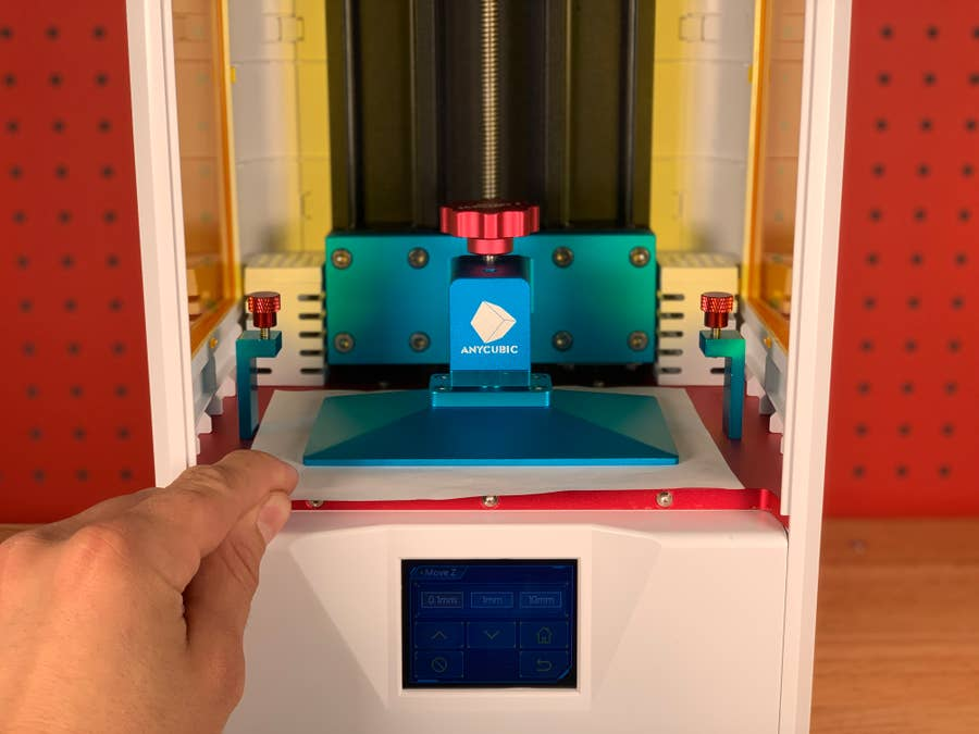 Photon S bed leveling