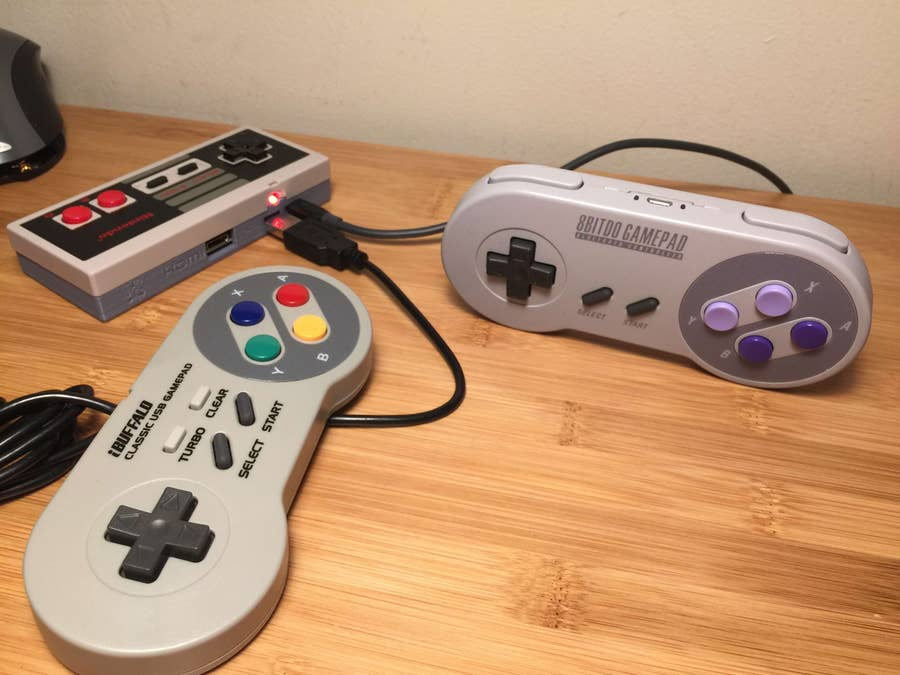 Connecting two USB controllers to the Gamepad Zero