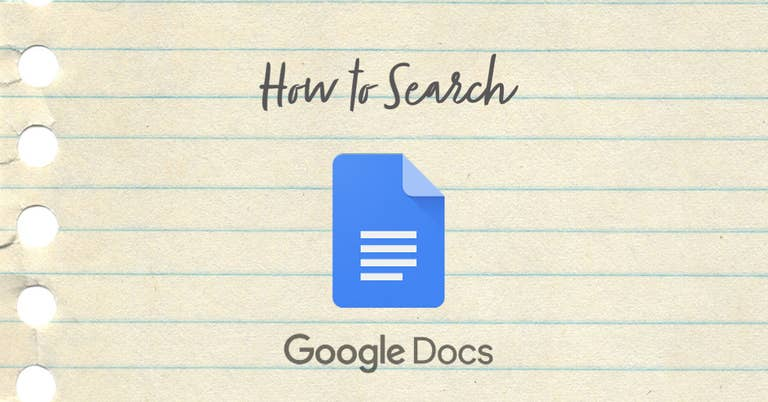 How to Search in Google Docs