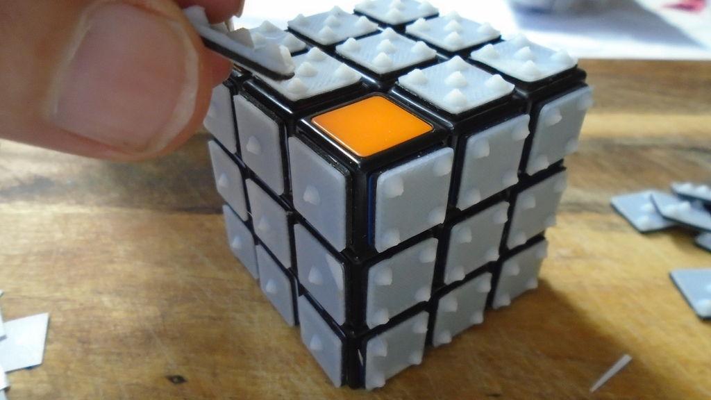 3D printed Rubik's Cube