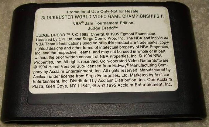 Blockbuster World Championships II