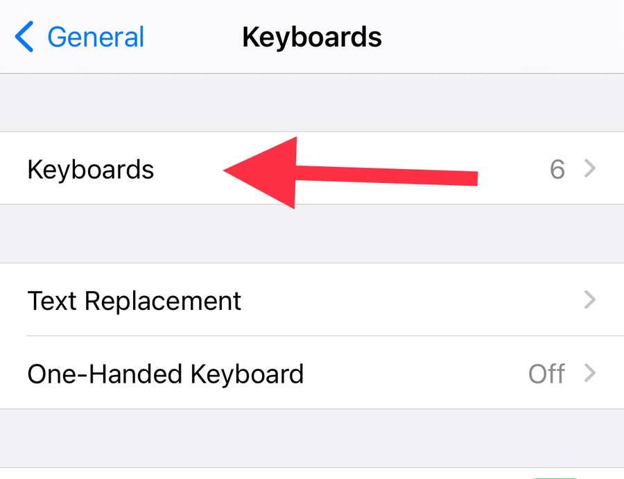 Keyboards in General iPhone