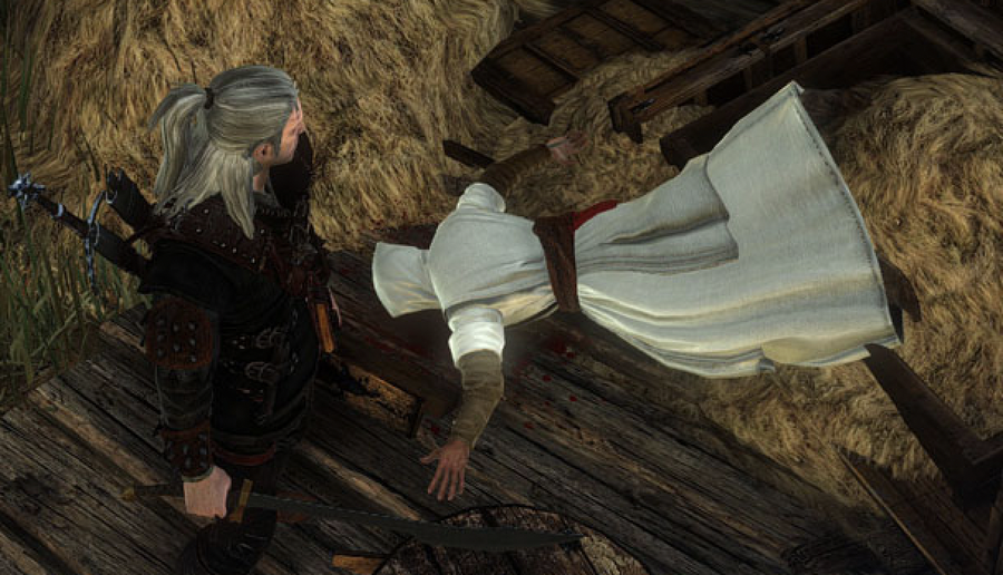 Assassin's Creed in Witcher 2.