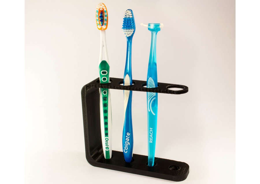 3D Printed toothbrush holder