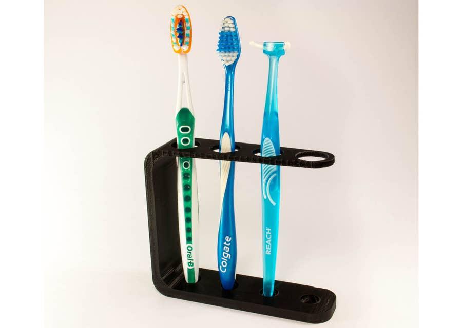 3D Printed toothbrush holder