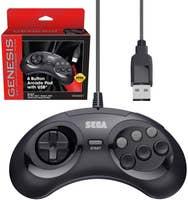 Retro-Bit Official Sega Genesis USB Controller