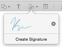 Use your signature