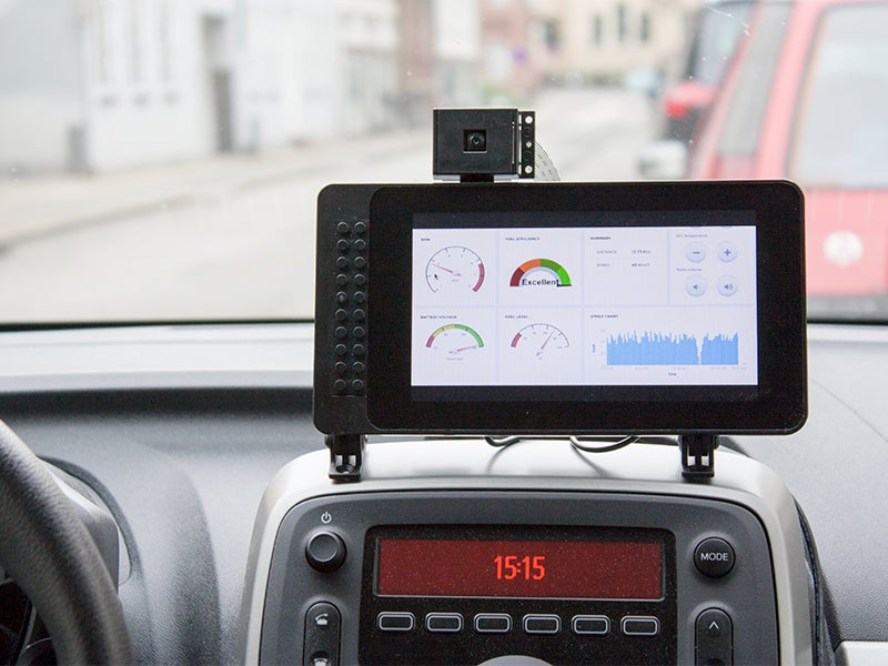 AutoPi on dashboard