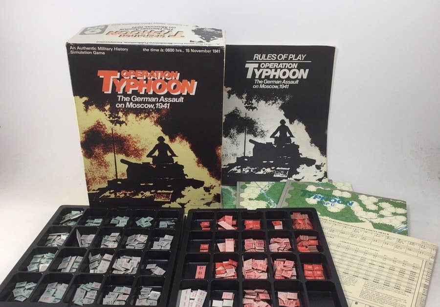 Operation Typhoon: The German Assault on Moscow, 1941 (1978)
