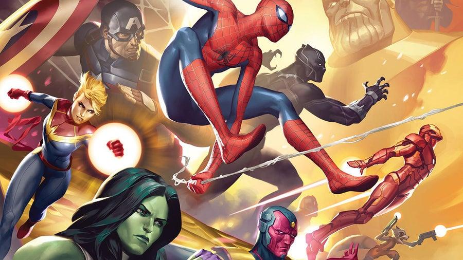 Marvel Champions baord game