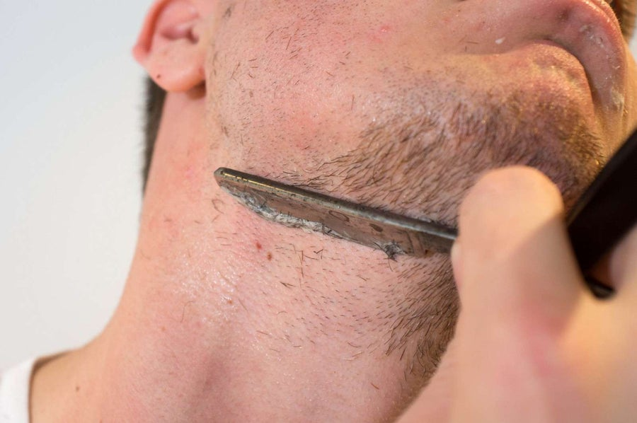 Shave your neck