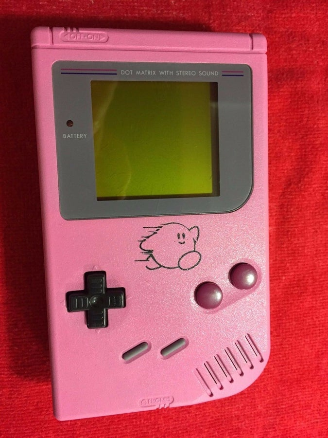 Kirby Pinball Game Boy