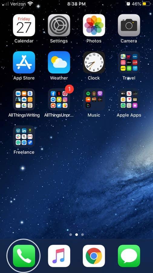 iPhone Phone app