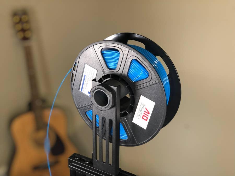 Spool of 3D printing filament