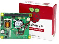 Official Raspberry Pi Power Over Ethernet (PoE) HAT