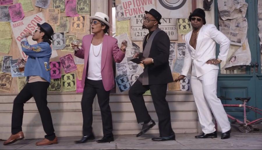 Uptown Funk Video still