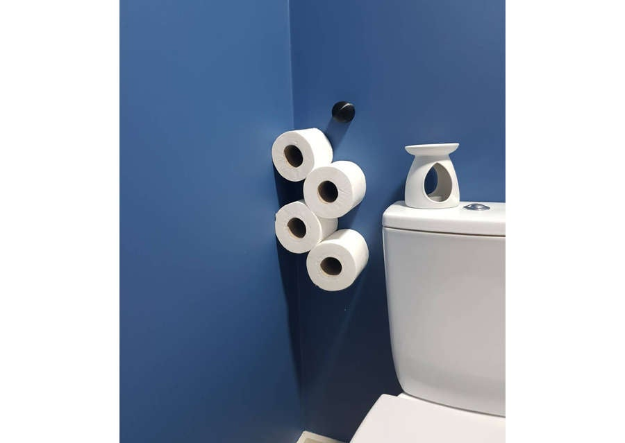 3D printed toilet paper holder