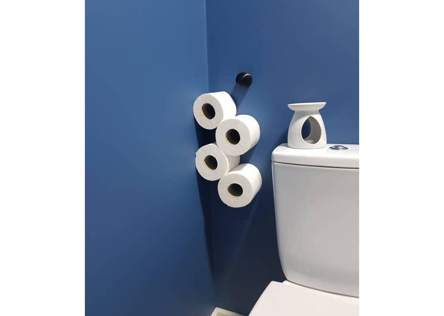 3D printed toilet paper holder