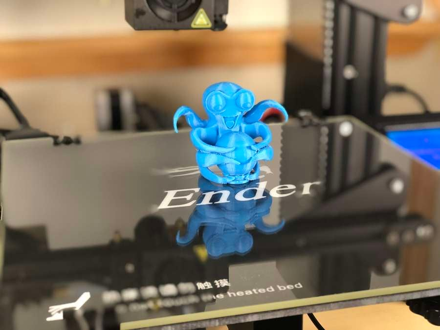 Printing on the Ender 3 using a glass bed