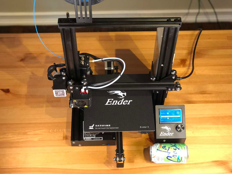 Ender 3 footprint