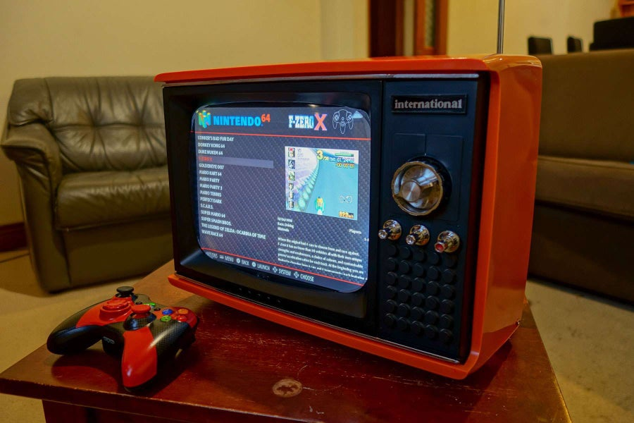 Turning an old portable TV into an amazing retro gaming system