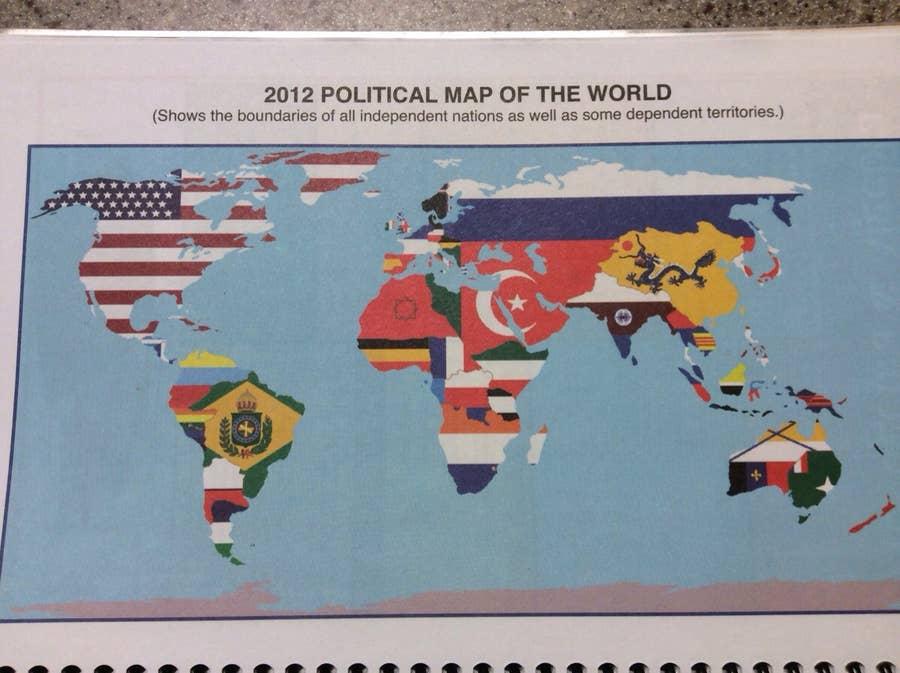 2012 Political Map