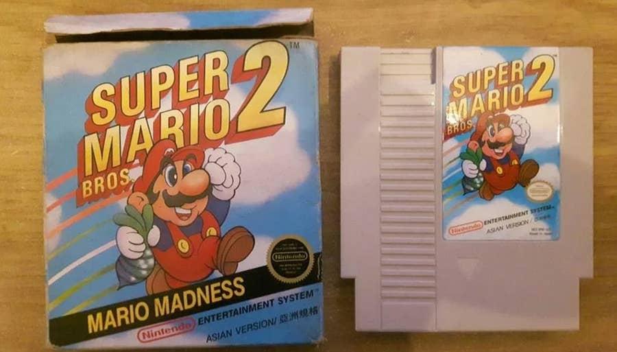 Super Mario Bros. 2 Asian Version
