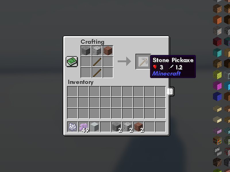 all stone to tools forge mod minecraft