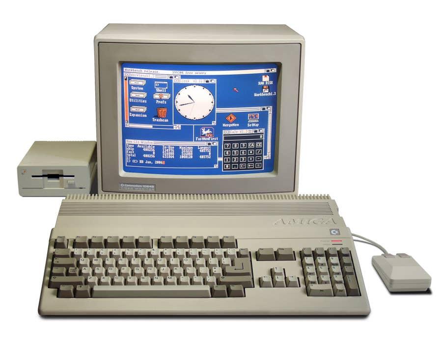 Raspberry Pi Amiga