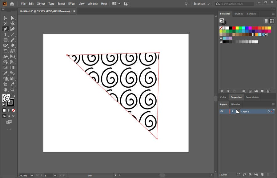 Adobe Illustrator Pattern