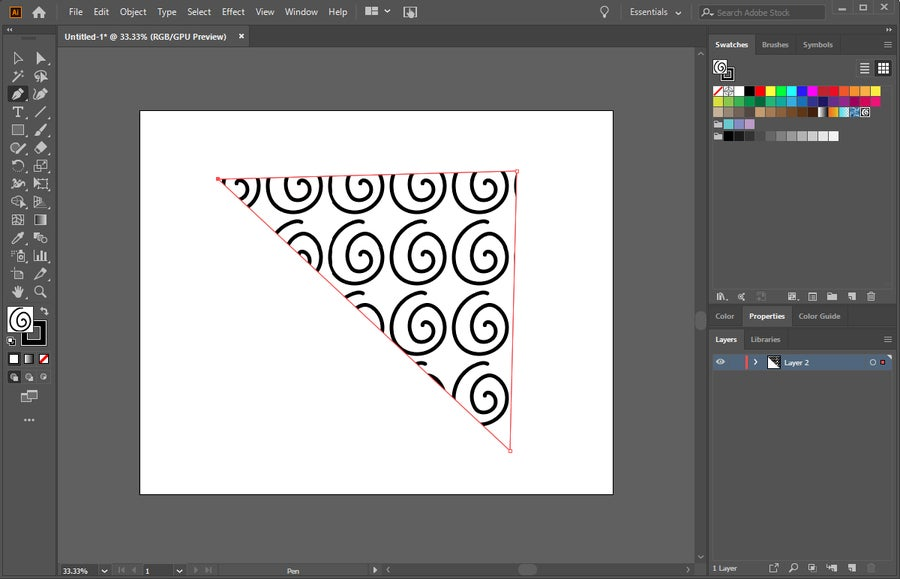 Adobe Illustrator Pattern