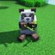 brown panda minecraft rare spawn