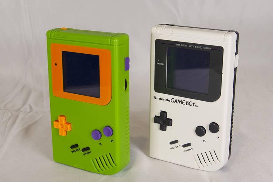 Cartoon Network and Nickelodeon Game Boy