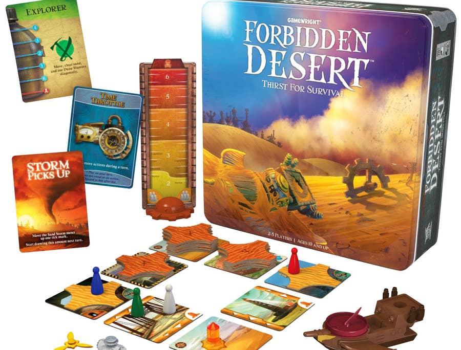 Forbidden Desert (2013)