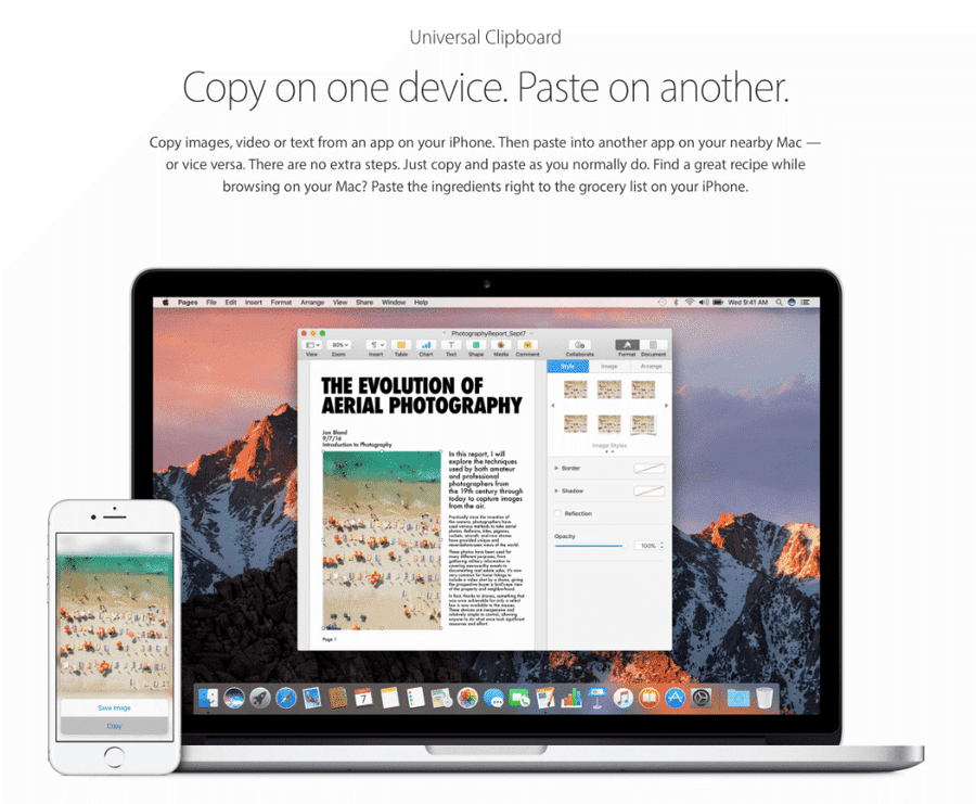Apple Universal Clipboard