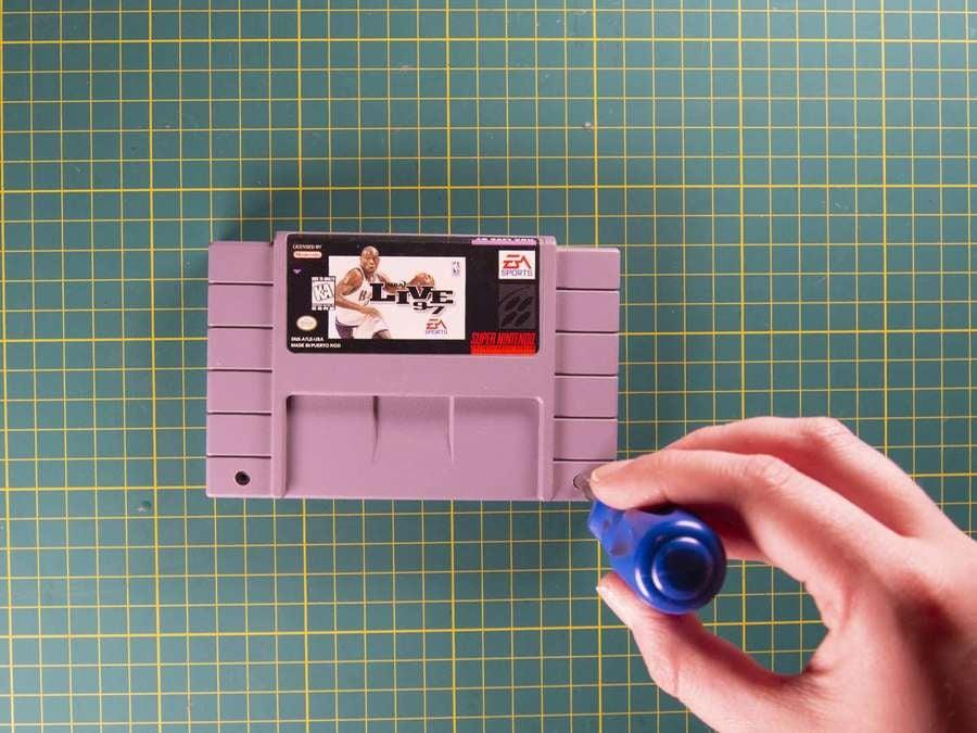 SNES cartridge shell