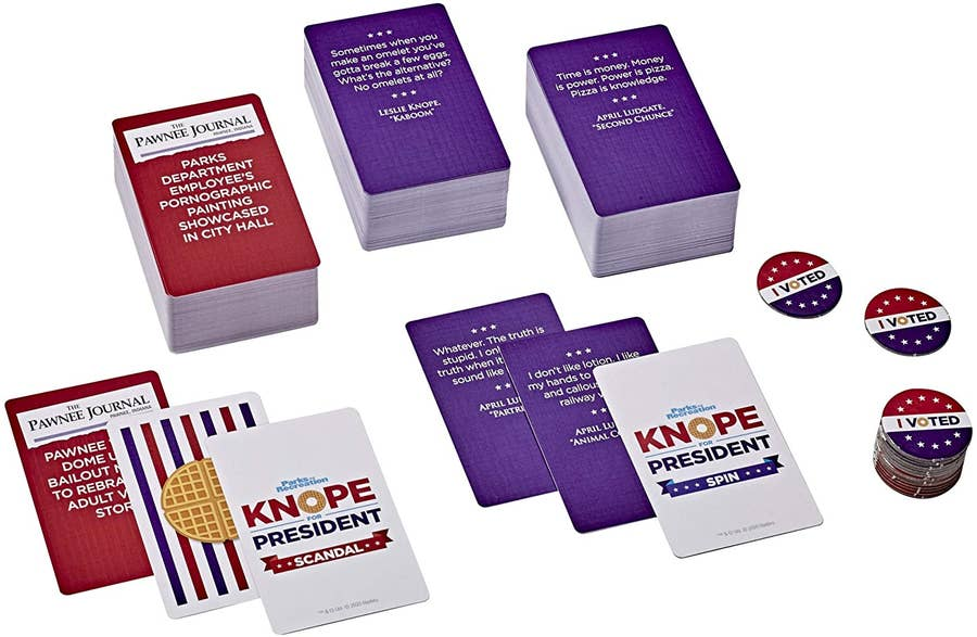Knope for President Party Card Game