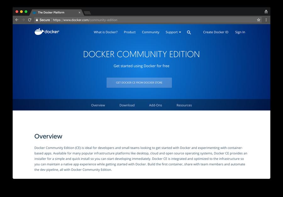 Download Docker