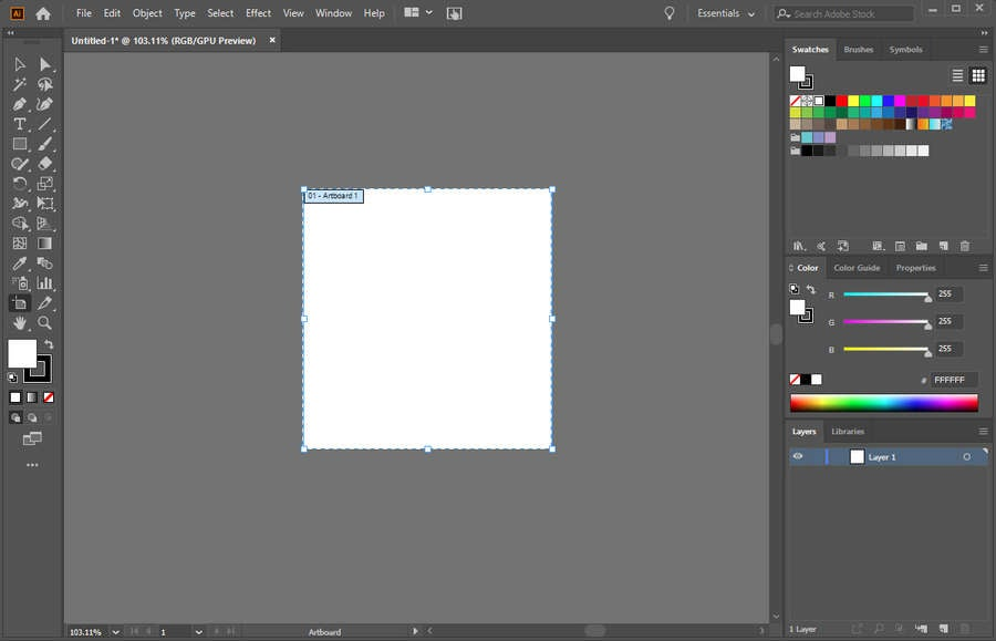 Adobe Illustrator Move Artboard