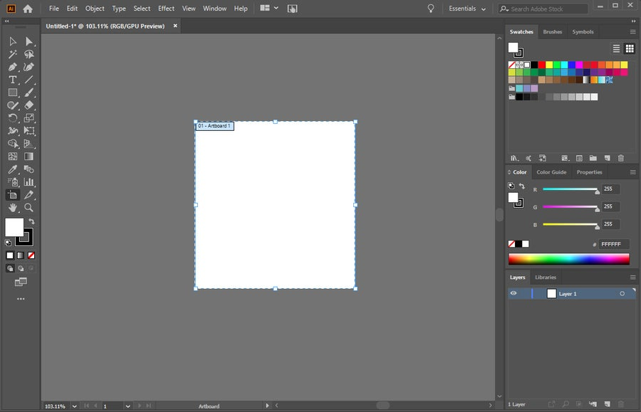 Adobe Illustrator Move Artboard