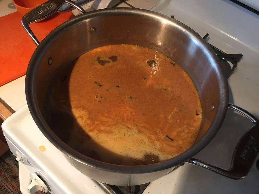 Simmer for 5-8 hours, adding more rum halfway through