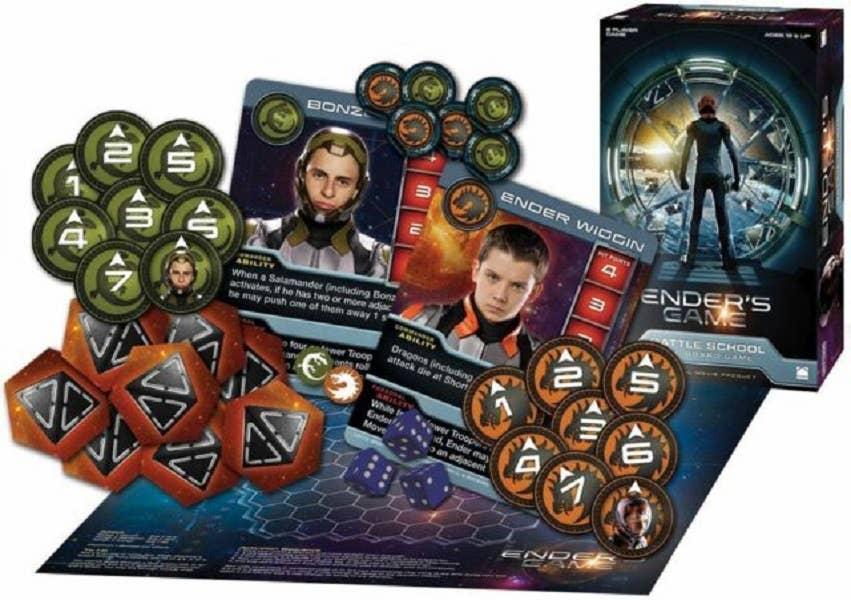 Ender's Game: Battle School Board Game