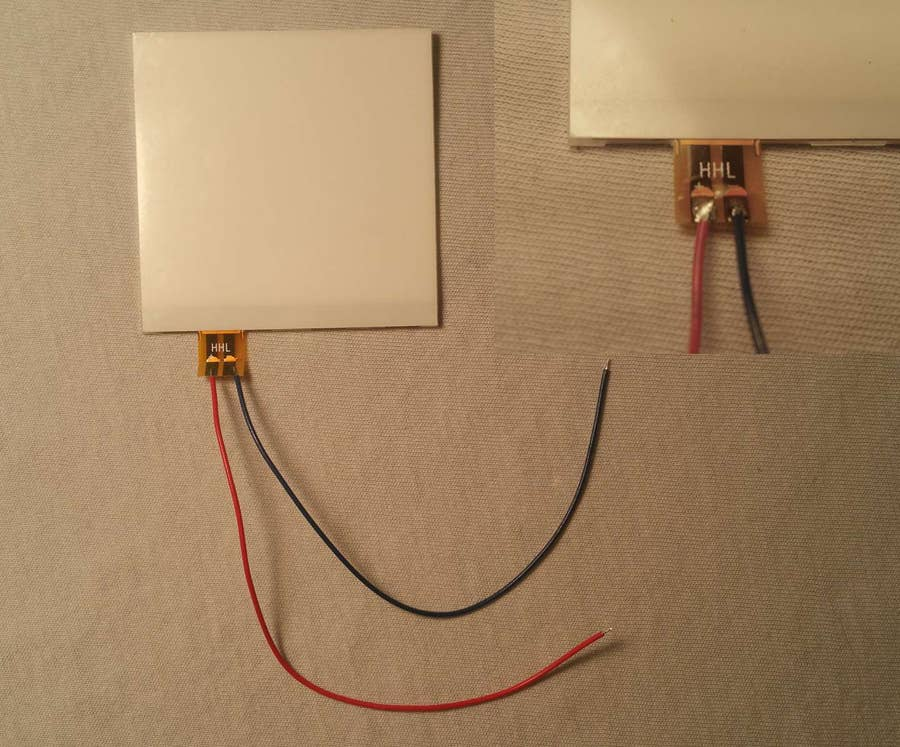 Solder the wires to the backlight