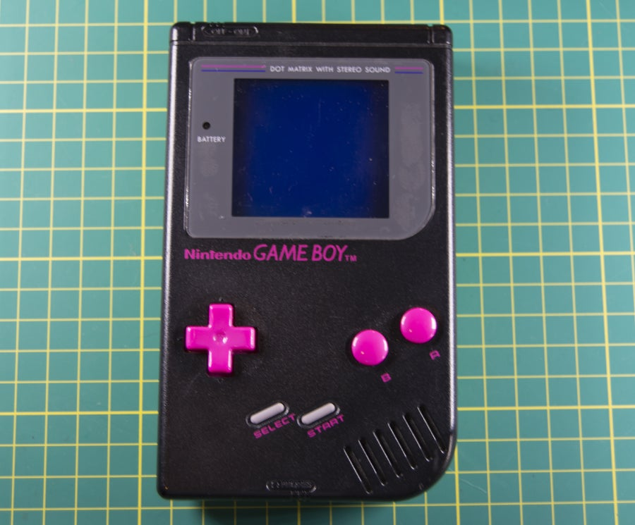 Examine the Game Boy