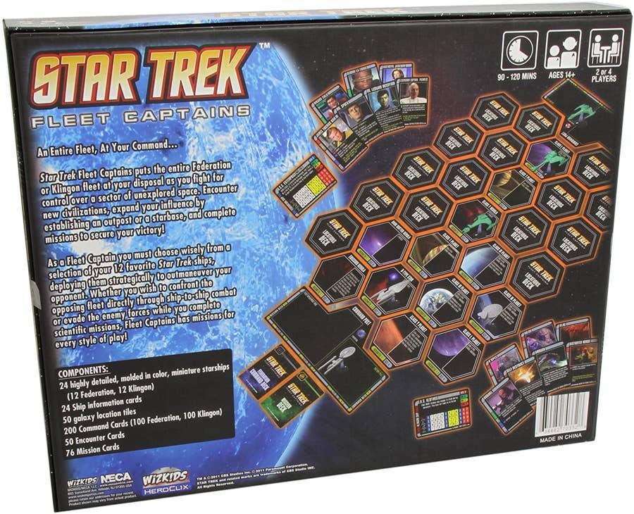 Star Trek Fleet Captains Board Game