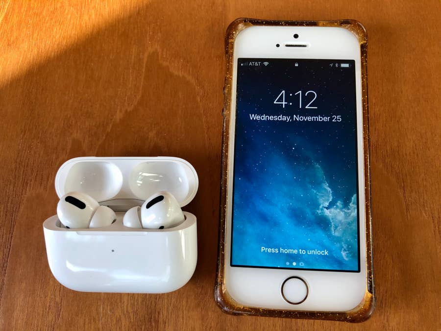 AirPods Pro Next to iPhone