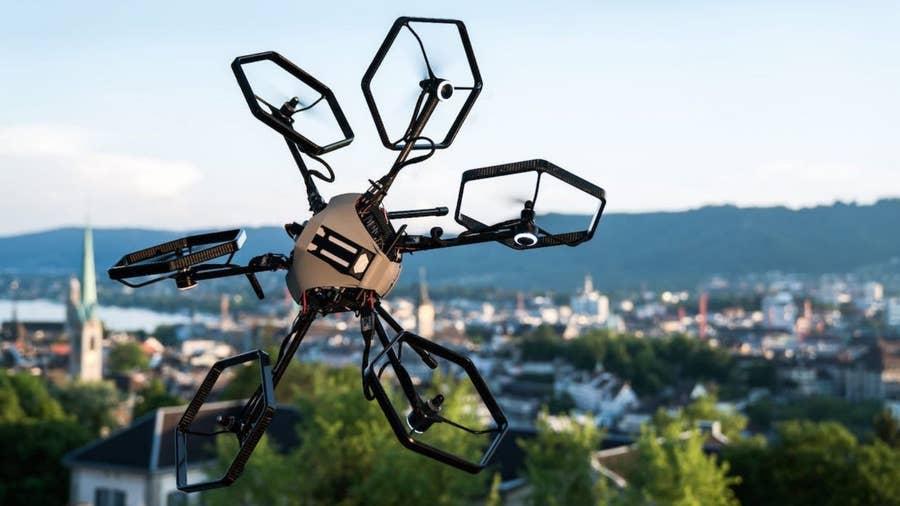 Voliro hexcopter drone