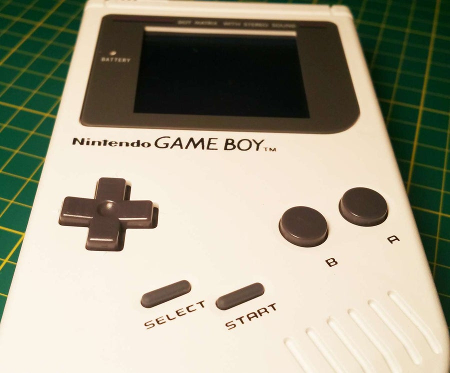 Game Boy buttons are sticky