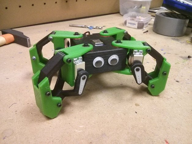 Walking Quadruped Robot