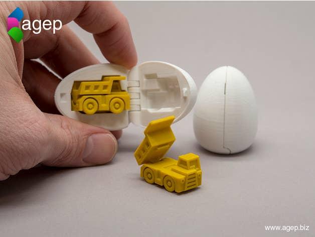Construction Toy Surprise Eggs